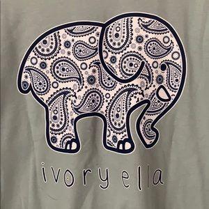 Ivory Ella Long Sleeve ~ Size XL ~ Seafoam